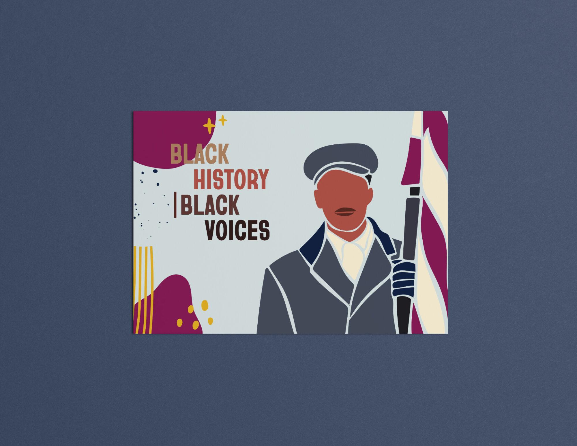 Black History Black Voices Mockup